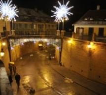 Sibiul se pregăteşte deja de sărbători