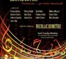 """Mediaș: Concert de pian """"Patimile după Bach"""" susținut de Nicolae Dumitru"""