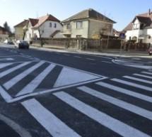 Sibiu: Calea Cisnădiei redeschisă după ample lucrări de modernizare
