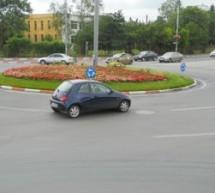 Un nou sens giratoriu, amenajat în Sibiu. Alte două se apropie de finalizare