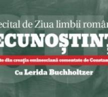 """Sibiu: """"Recunoştinţă"""" – recital de Ziua Limbii Române"""