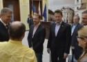Gunther Krichbaum, preşedintele Comisiei pentru Afaceri Europene a Parlamentului german, în vizită la Sibiu