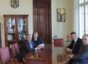 Norbert Kartmann, președintele Parlamentului landului Hessen (Germania) în vizită la Primăria Municipiului Sibiu