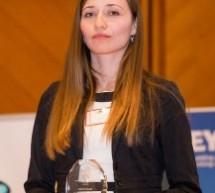 Sibianca Raluca Popa, câștigătoarea marelui premiu la Gala Studenților Români din Străinătate