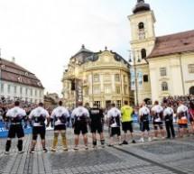 Titanii planetei vin să îşi măsoare forţele în Piaţa Mare din Sibiu