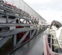 Stadionul din Avrig, pregătit pentru retur
