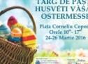 Mediaș: Târg de Paște în Piața Corneliu Coposu