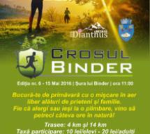 Sibiu: Crosul Binder se va desfășura în 15 mai