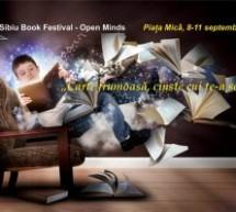 Festivalul Dialog – Sibiu Book Festival – Open Minds se desfășoară în Piața Mică