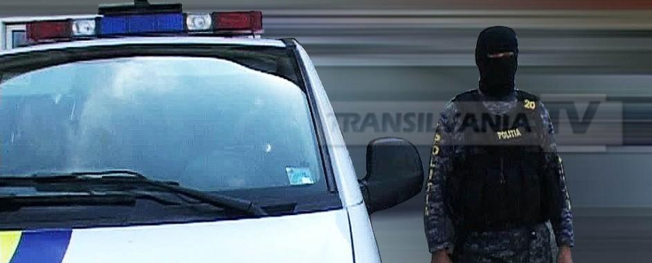Percheziții efectuate de polițiștii sibieni