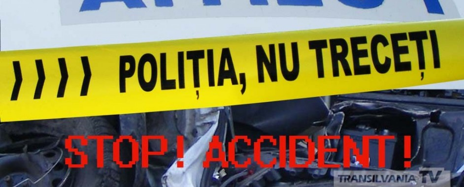 Accident rutier mortal produs în județul Sibiu