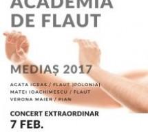 """Mediaș: Concert în cadrul """"Academiei de Flaut 2017"""""""