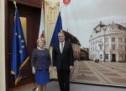 Ambasadorul Elveției, în vizită la Primăria Sibiu
