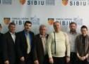 Oaspeți din Republica Moldova la Consiliul Județean SIbiu