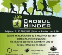 A 7-a ediție a Crosului Binder (Mediaș, 13 mai)