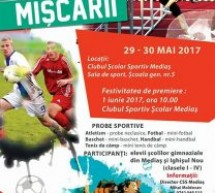 Festivalul Sportului Medieșean ,,Bucuria Mișcării'' (mai-iunie 2017)