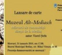 """Cartea """"Muzeul Alt-Mediasch"""" va fi lansată în data de 31 ianuarie"""