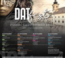 """O nouă ediție """"DATFest – Studenții sibieni cuceresc orașul"""""""