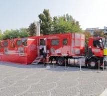 """Caravana SMURD """"Fii pregătit"""" vine în Copșa Mică"""