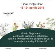 Sibiul găzduiește Festivalul Grădinilor