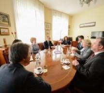 Ministru german, în vizită la Primăria Sibiu