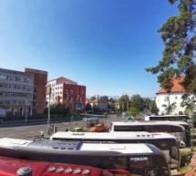 Mai multe locuri de parcare în Sibiu pentru autocarele turistice