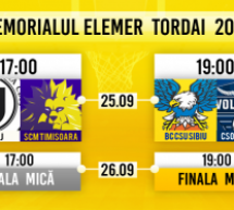 Memorialul Elemer Tordai se va desfășura în Sala Transilvania