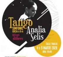Analia Selis, în concert la Sibiu