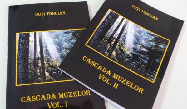 """Cartea """"Cascada Muzelor"""", scrisă de Duţi Toncian, va fi lansată vineri la Mediaș"""
