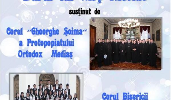 """Copșa Mică: Concert de colinde """"Darul lui Moş Nicolae"""""""