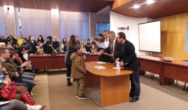 Olimpicii din Mediaș, premiați pentru rezultatele obținute