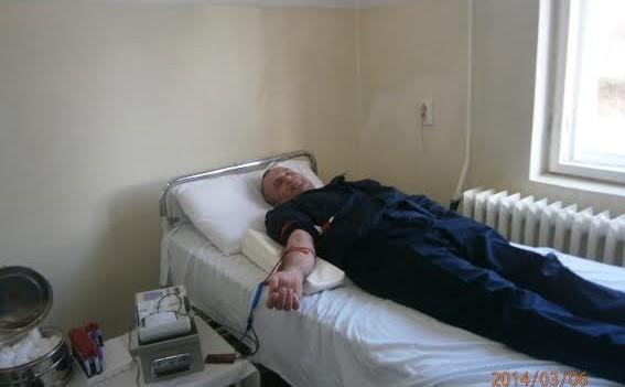 Jandarmii din Sibiu au donat sânge