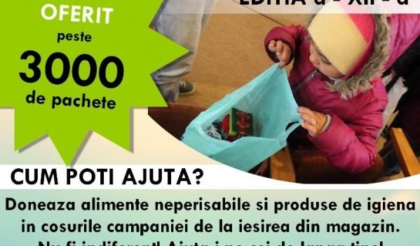 """Mediaș: O nouă ediţie a campaniei """"Hrăneşte un zâmbet"""""""