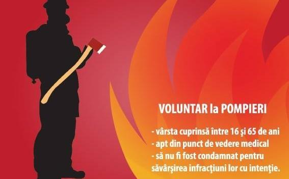 ISU Sibiu caută voluntari