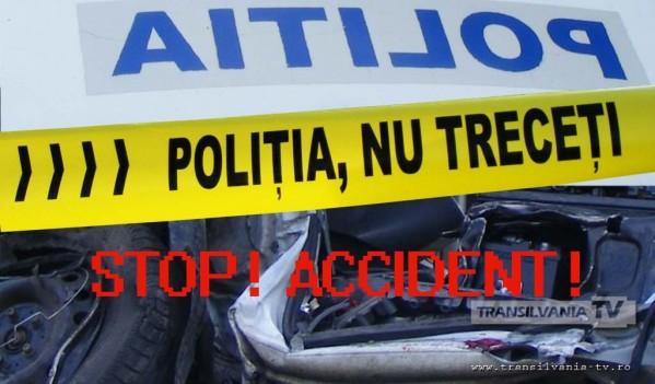 Accident rutier în Agnita