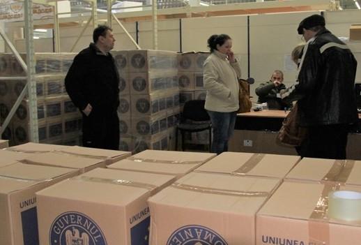 Sibiu: Alimentele UE se distribuie până în 18 august