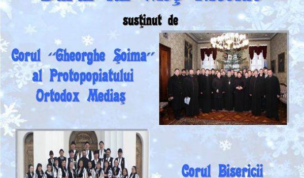 """Concert de colinde """"Darul lui Moş Nicolae"""", azi la Copșa Mică"""