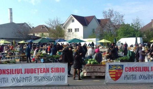 Piața Volantă Transilvania se deschide