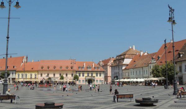 Primăria Sibiu a instalat puncte de prim ajutor împotriva caniculei