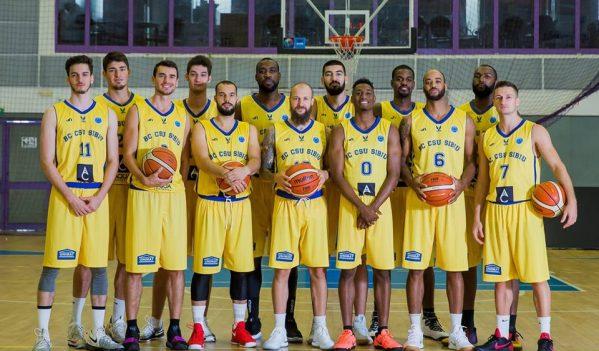 CSU Sibiu întâlnește Steaua în etapa a 2-a a LN de baschet masculin