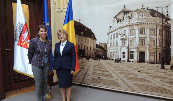 Ambasadorul Franței, în vizită la Sibiu