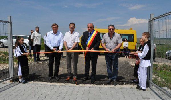 Rețea de alimentare cu apă in satele Bogatu Român si Broșteni