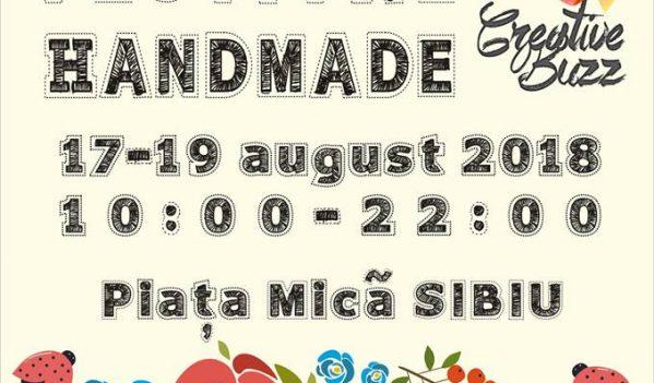 Sibiul găzduiește festivalul Handmade Creative Buzz