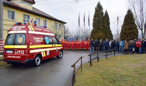 Ambulanță nouă pentru SMURD Copșa Mică
