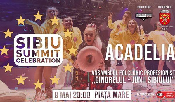 Spectacol în Sibiu (9 mai)