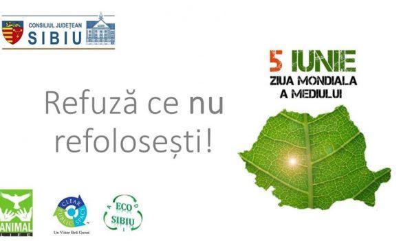 Ziua Mediului la Consiliul Județean Sibiu