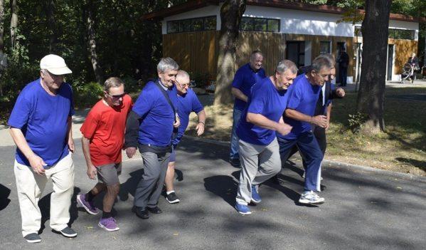 Sibienii au sărbătorit Ziua Internațională a Persoanelor Vârstnice prin sport