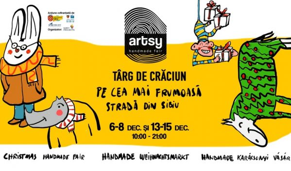 O nouă ediție ARTSY va avea loc pe strada Cetății din Sibiu